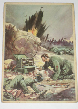 Italian Postcard of the '3° Reggimento Genio' II