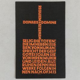 Deathcard of 'Heinz Reuter'