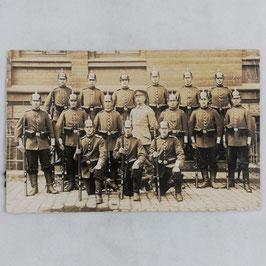 Groep Duitse soldaten - 1914