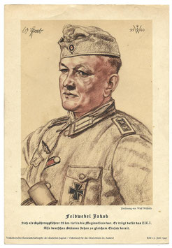 Print door 'Wolf Willrich' - Feldwebel Jakob 1940