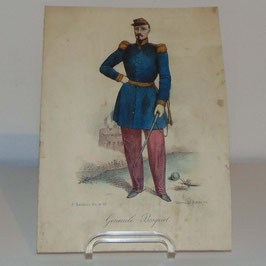 Colourful print of General Boquet