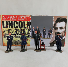 King & Country - Set: 'Lincoln & his Generals' - strictly limited