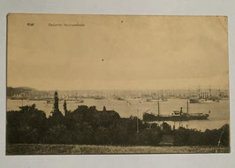 Postcard - 'Gesamte Hochseeflotte - Kiel'
