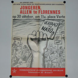 Polster of the Belgian Communist Youth Movement - '60