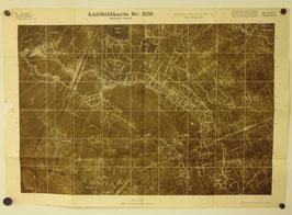 Duits leger - 'Luftbildkarte' 1917