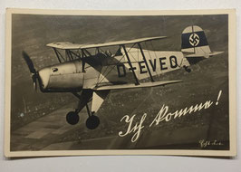 German postcard 'Ich komm'