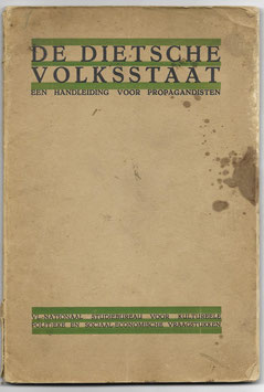 De Dietsche Volksstaat - Een handleiding voor propagandisten - 1935