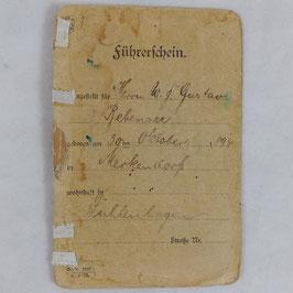 'Führerschein' - 1924