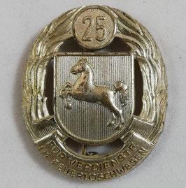 25 - Für Verdienste im Feuerlöschwesen