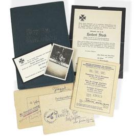 Klein lot Duitse documenten