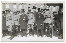 Hogere Duitse officieren en civiele hoogwaardigheidsbekleders