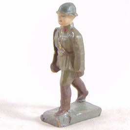 Belgisch officier met sabel