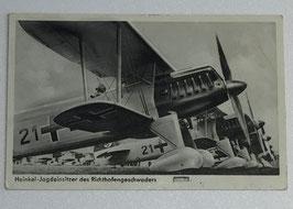 German postcard 'Sturzbomber startbereit'