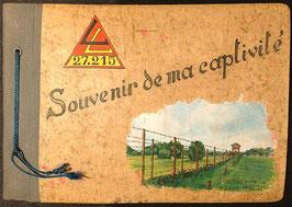 Foto-album 'Souvenir de ma captivité' - 1943