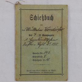 Schießbuch - 1910
