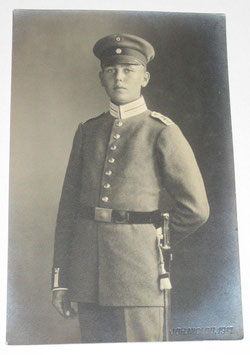 German soldier in dress uniform