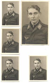 Kleine lot foto's Duitse soldaat - Luftwaffe