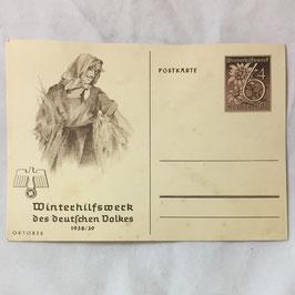 Winterhilfswerk des deutschen Volkes - Oktober 1938/39