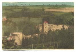 Environs du Camp d'Elsenborn Kamp - Ruines à Montjoie - Puinen te Montjoie