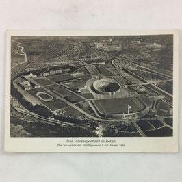 German postcard 'Das Reichssportfeld in Berlin'