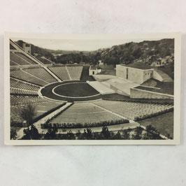 German postcard 'Reichssportfeld - Dietrich Eckardt - Bühne'