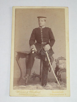 CDV German Soldier - Darmstadt