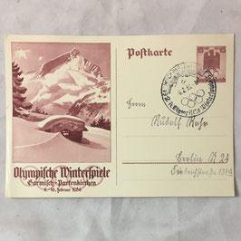 Olympische Winterspiele Garmisch-Partenkirchen 6.-16. Februar 1936