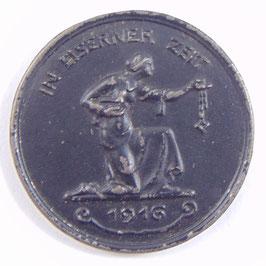 Notmedaille 1916 - Deutschland In eiserner Zeit