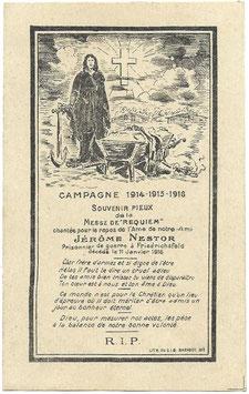 Bidprent - 1916