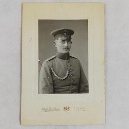 German soldier with 'Schützenschnur'