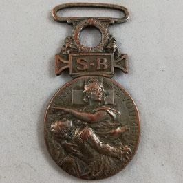 Medaille Société Française de Secours aux Blessés Militaires - 1864 - 1866