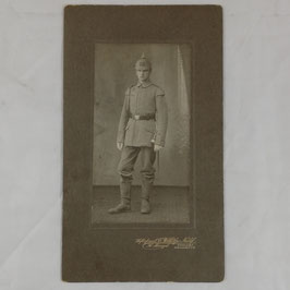 German soldier with 'Schwalbennester'
