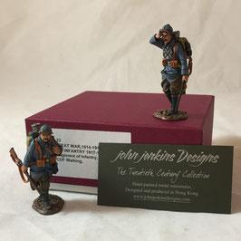 John Jenkins Design - 123e Regiment of Infantry 2 PCDF Walking
