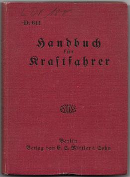 Handbuch für Kraftfahrer - 1936
