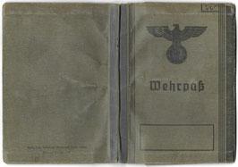 Wehrmacht - 'Wehrpaß' & bijkomende documenten