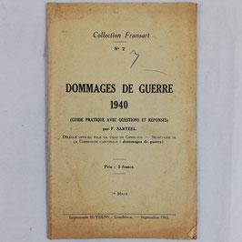Dommages de guerre - 1940