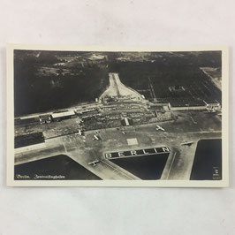 German postcard 'Berlin Zentralflughafen'