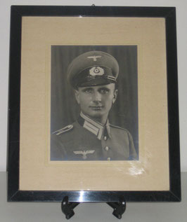 Large framed picture of a german soldier