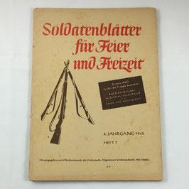 Soldatenblätter für Feier und Freizeit - 7 / 1943