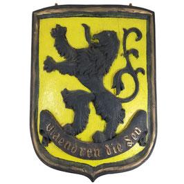 Vlaamse leeuw - muurdecoratie