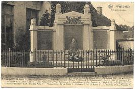 Wachtebeke - Het gedenkteeken