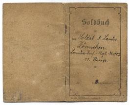 Soldbuch - 'Landsturm-Inf.-Rgt N°102 11. Komp.'
