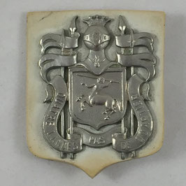 Belgian cap badge of the '4de Lansiers'