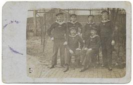 Groepsfoto Duitse marinesoldaten