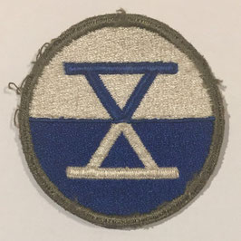 United States Army 10th Army Corps patch
