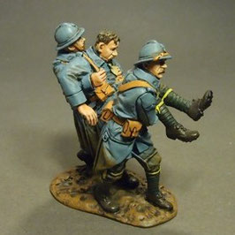 French Infantry 1917-1918, 3 wounded PCDF