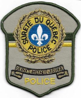 Police - Sûreté du Québec - patch