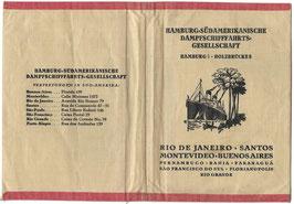 Stoffen mapje 'Hamburg-Südamerikanische Dampfschifffahrts-Gesellschaft'