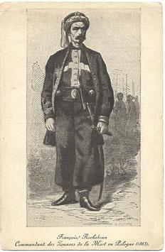 François Rochebrun - Commandant des Zouaves de la Mort en Pologne (1863)