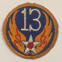 United States Thirteenth Air Force patch